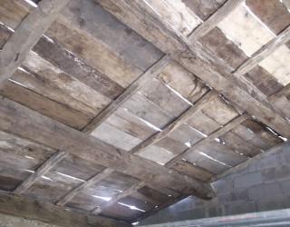 Plafond à l'ancienne